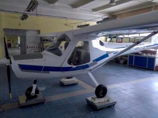 Samolot 3XTrim SP-SKTS na wadze